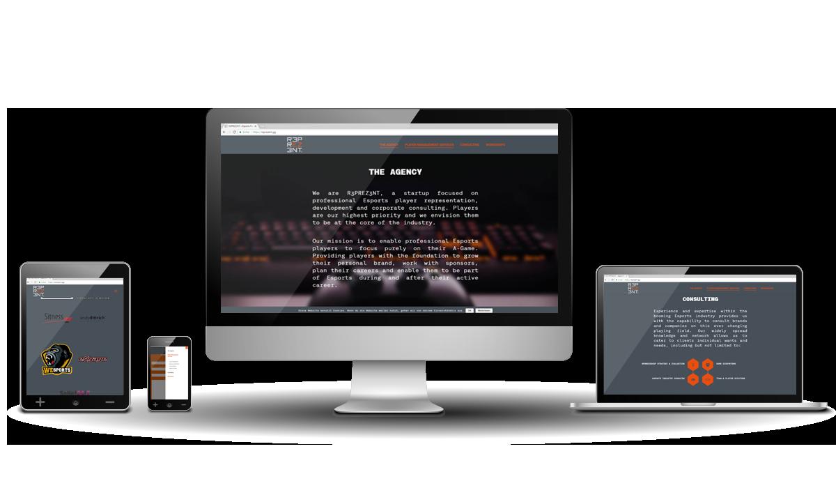 Werbeagentur Hendrich - Design & Fotografie - R3prez3nt Webseite