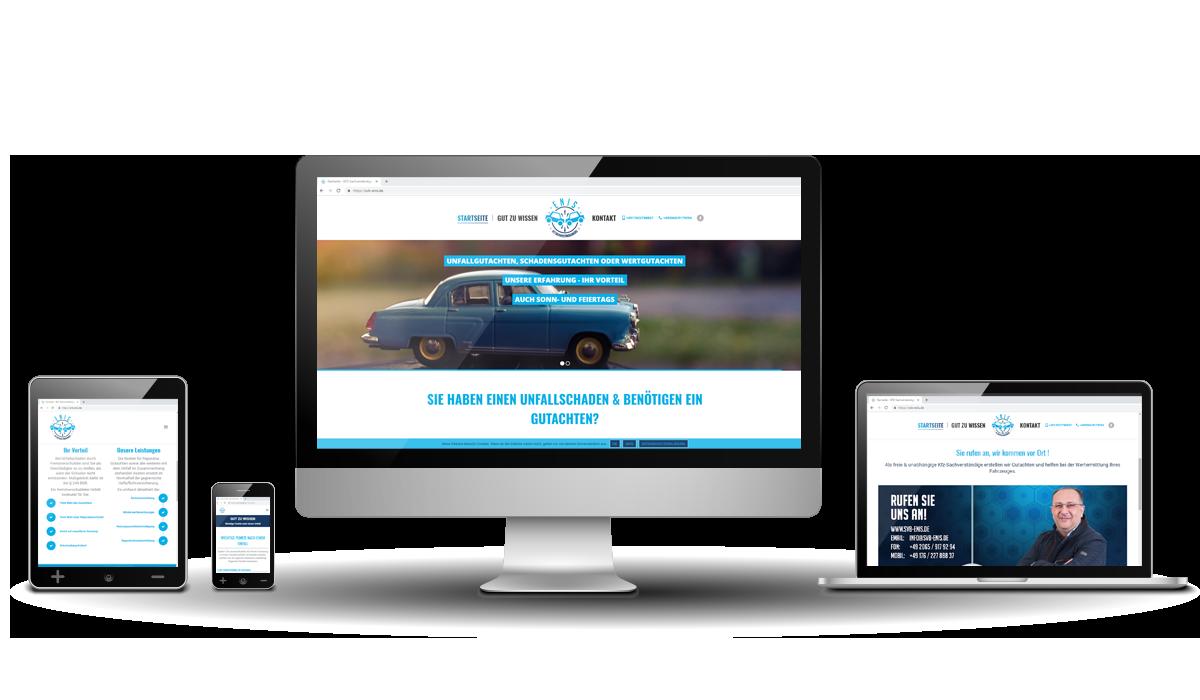 Werbeagentur Hendrich - Design & Fotografie - SVB-Enis Webseite